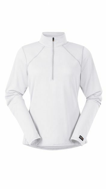 Kerrits Ladies Ice Fil Longsleeve Shirt  bianca  Various Dimensiones