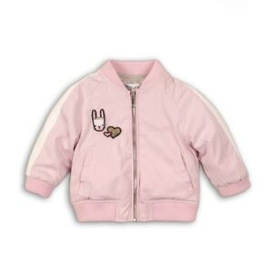 7b27a4fba Details about Baby Girls Pink Bomber Jacket