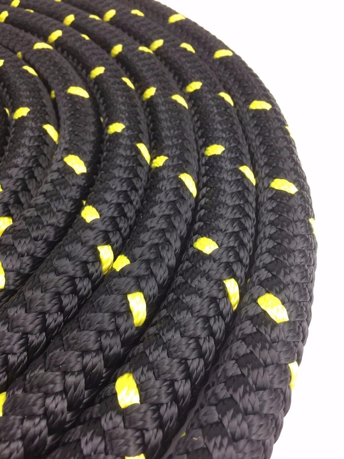 Nero & Giallo BATTAGLIA esercizio combatte con corde Fitness 12 Training palestre, 30 mm x 12 Fitness M 7fcbb9