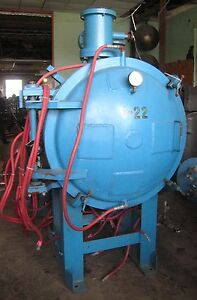Abar 1000 176 C Vacuum Furnace With Controls Quench System