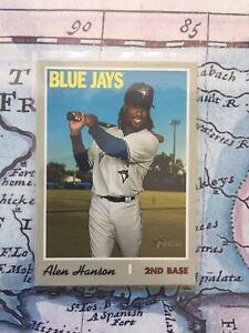 2019 Topps Heritage High Number #716 Alen Hanson SP-Short Print