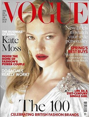 Vogue magazine Kate Moss Facial Spring fashion James Norton Tom and Ruth Chapman