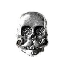 Skull Lapel Pin - Tie Tack - Pins - Skulls - Gift Idea - Handmade - Gift Box