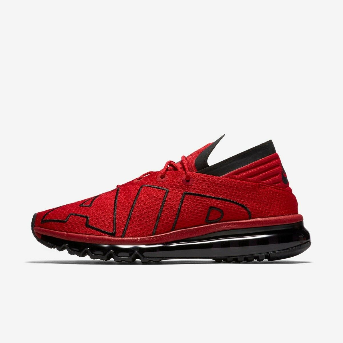 Nike Air Max Flair Mens Running Trainer Shoe Size 7 - 9 Gym Red New