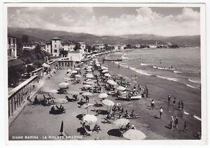 Imperia diano marina spiaggia bagni cartolina fotografica non