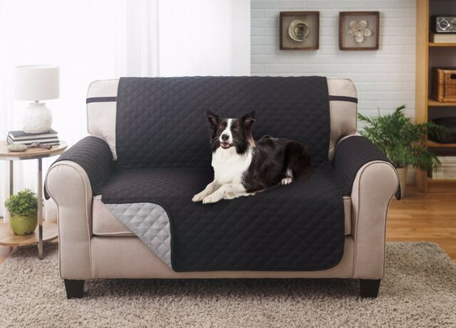 SLIPCOVER REVERSIBLE SOFA PET FURNITURE COUCH PROTECTOR COVER 1800 COUNT