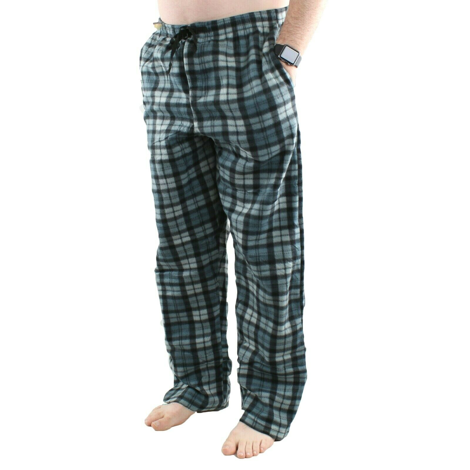 Bronze Eagle Mens Sleepwear Fleece Lounge Pajama Sleep Pants M to XXL