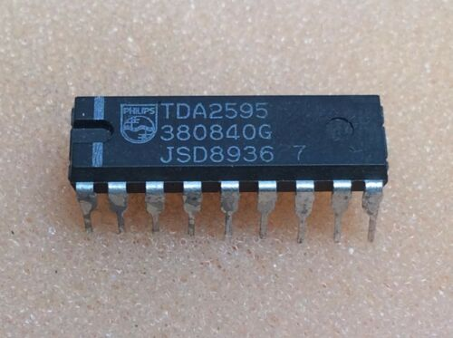 1 pc TDA2595  Philips  DIP16  NOS  #BP