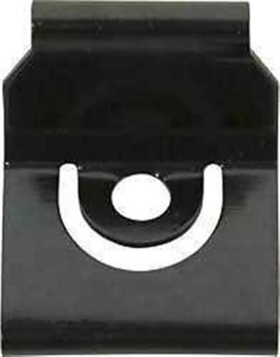 62-65 Nova Chevy II Rear Window Moulding Clips Coupe Only set of 2