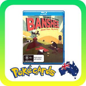 Banshee : Season 1 (Blu-ray, 2013, 4-Disc Set)