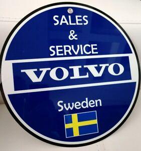 Volvo Sweden Sales And Service Sign Ebay