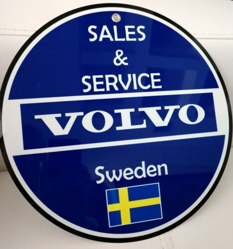 Volvo Sweden Sales and Service sign