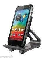 Motorola Universal Flip Stand Mount for Smartphones - Retail Packaging - Red/White Cellular Accessories