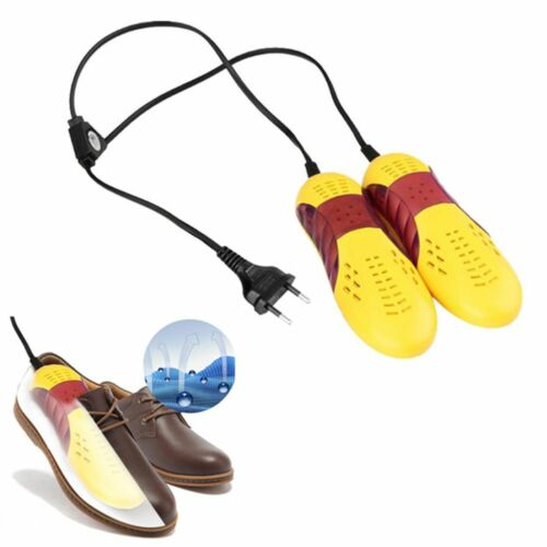 EU Plug Race Car Shape Shoe Dryer Protector Odor Deodorant Dehumidify SALE