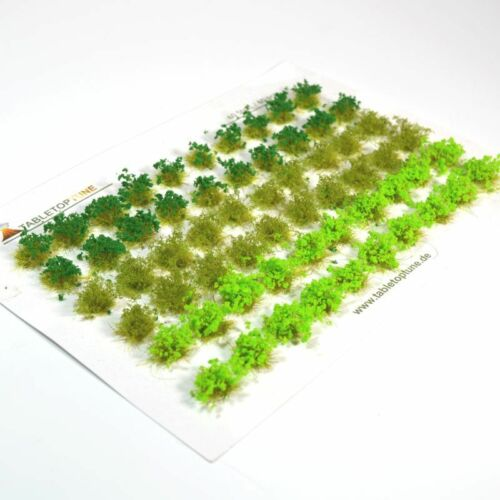 Grasbüschel Green Grass Tuft Mixed No.63 Blühend Blooming Grün