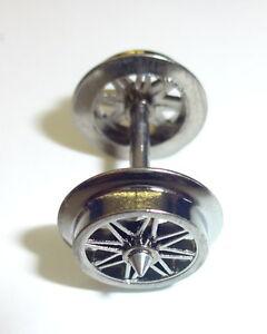 Roco-H0-40181-85606-Wechselstrom-Radsatz-11-mm-Achslaenge-24-75-mm-10-Stueck-NEU