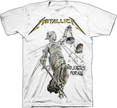 Metallica And Justice For All Heavy Metal Music Rock Band Mens Shirt 50040021