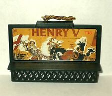 HO SCALE LIGHTED BILLBOARD HENRY V WILLIAM SHAKESPEARE NEW