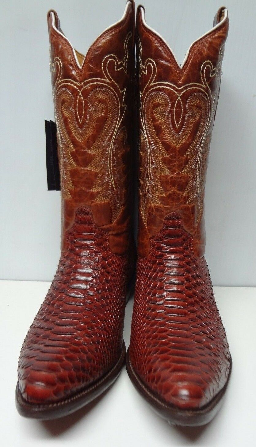 Men's Roper cowboy boots genuine leather western   C175