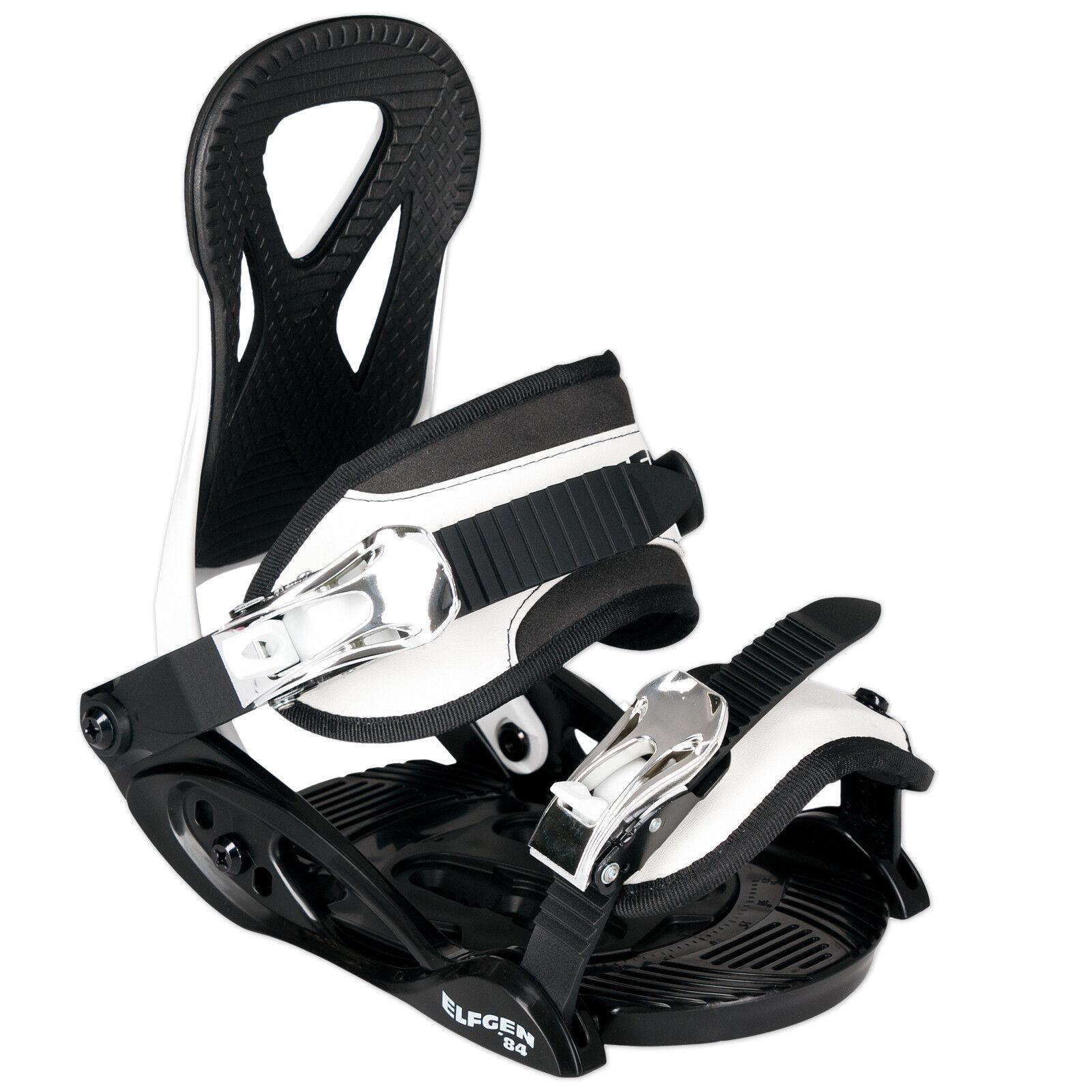 Elfgen Eco Junior Niños Fijación Snowboard Talla XS S = 30-35, 5 Eu