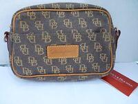 Dooney & Bourke Small Zip Top Canvas Bag Sp104 Ex No Strap