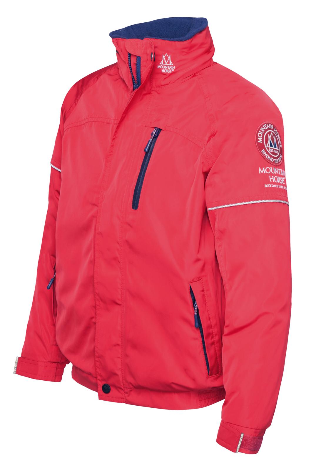 Mountain Horse Junior per bambini Team giaccaRoyal rosso