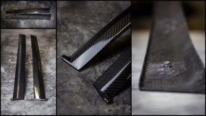 96-00-Honda-Civic-B-pillar-trim-set-100-carbon-fibeR-rare-EK2-EK3-EKR-EK5-EK9