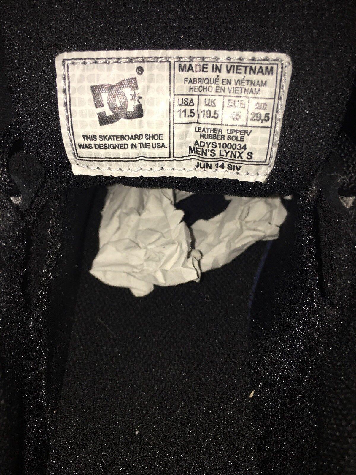 DC SchuhesMEN'S LYNX DEADSTOCK S Model#ADYS100034 BLACK/GUM (BGM)2014 DEADSTOCK LYNX US  Herren 11.5 20aecc