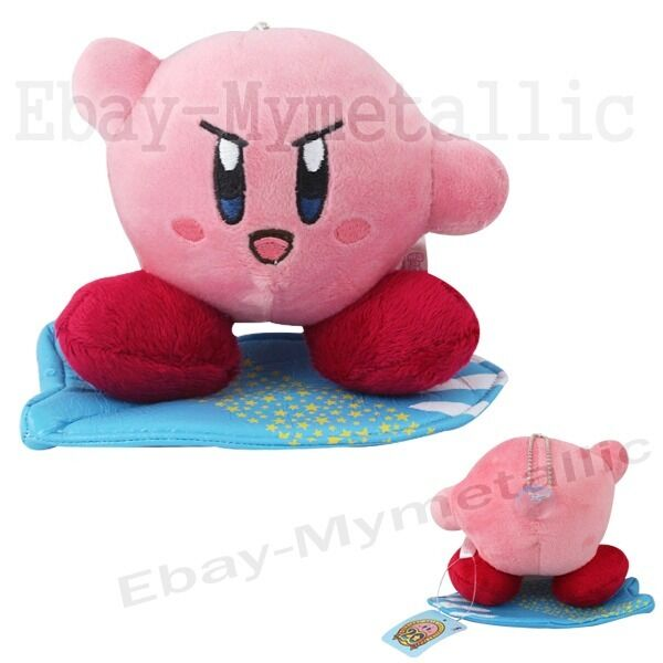 "Lovely Cute Kirby 12cm / 4.8"" Suction Cup Soft Plush Doll Toy Brand New #01"
