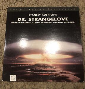 RARE OOP CRITERION Dr. Strangelove LASERDISC film 1964 Stanley Kubrick sellers !