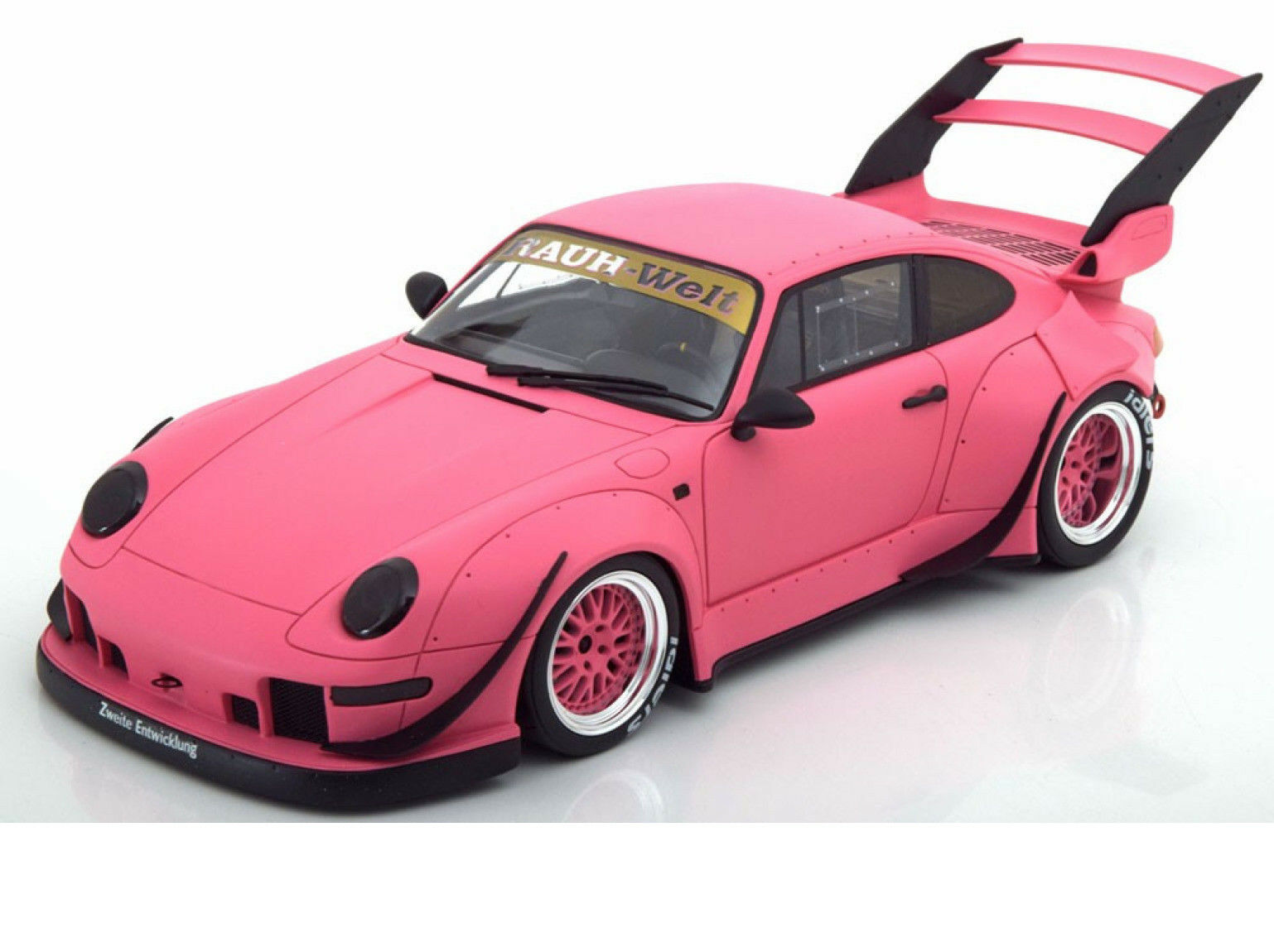 Porsche 993 rwb rotana matt Rosa 1   18 - modell - auto von gt - geist kj020 kyosho