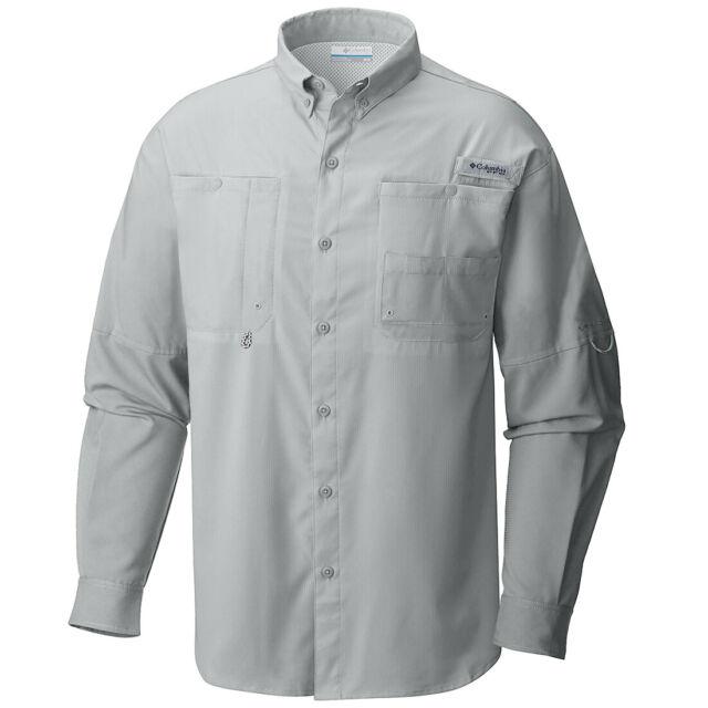"New Mens Columbia PFG /""Tamiami II/"" Omni-Shade Wick Vented S//S Fishing Shirt"