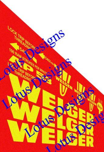 welger ap53 baler stickers decals