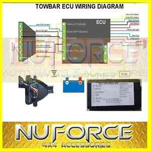 universal towing trailer ecu module chip harness wiring unit image is loading universal towing trailer ecu module chip harness wiring