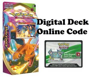 Pokemon-TCG-Vivid-Voltage-Online-Charizard-Theme-Deck-Digital-Redemption-Code