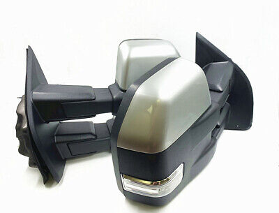 For 15-17 F150 Base Color 8 Pin Towing Mirrors Power Heated Turn Signals paint