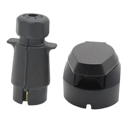 7Pin Plastic Trailer Plug/&Socket Caravan Towbar Wiring Towing Electric Light