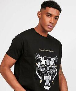 Kings-Will-Dream-KWD-New-Mens-Crew-Neck-Short-Sleeve-T-Shirt-Demon-Velour-Black