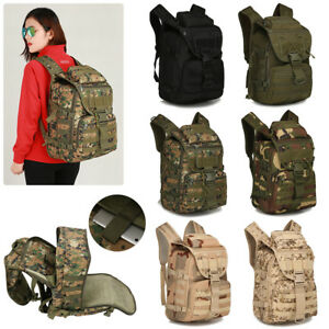 Men-039-s-MOLLE-Hiking-Camping-Bag-Military-Tactical-Rucksack-LAPTOP-Backpack-Travel
