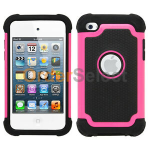 Dual Layer Hybrid Kickstand Rugged Heavy Duty Case For Apple iPod Touch 6/& 5 Gen