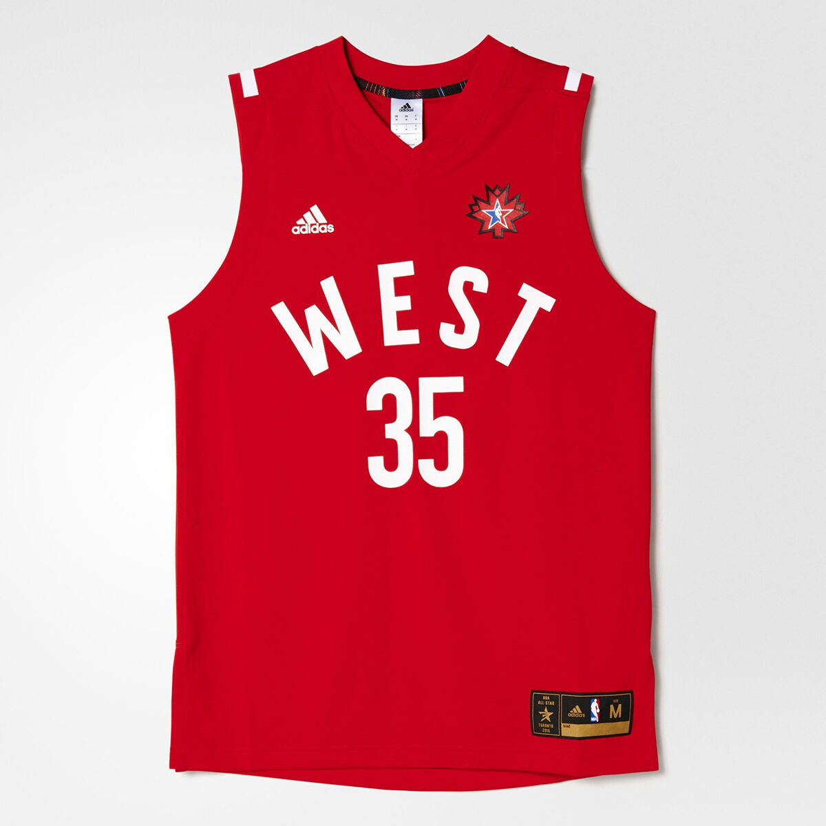 Adidas NBA All-Star 2016 Kevin Durant Replica Jersey NEW AC2641 rot Weiß