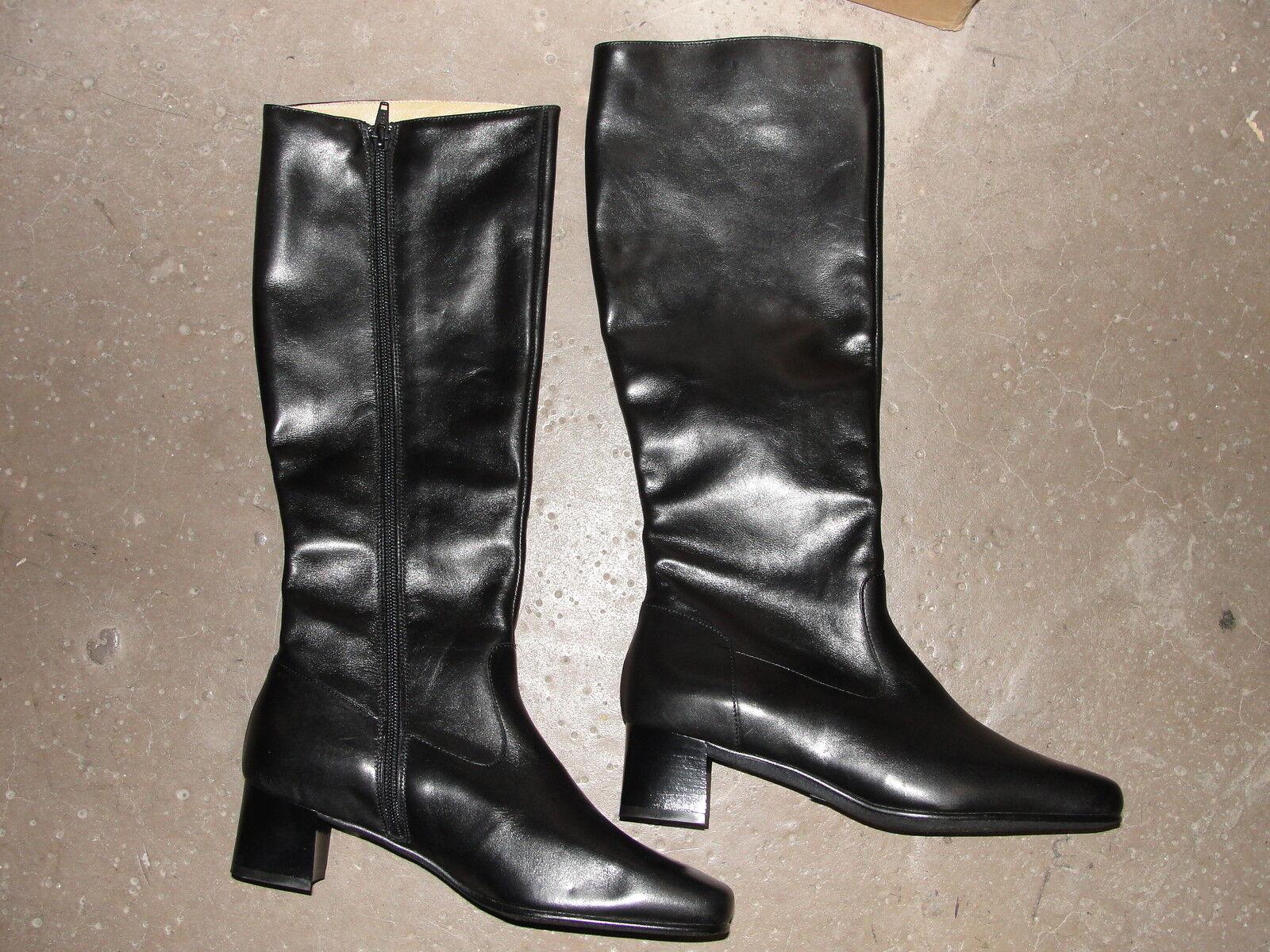 Grandes zapatos con descuento Paire de bottes Femme Armée Française en cuir taille 41 - Neuves
