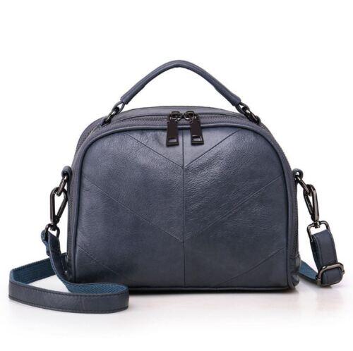 Leather Purse Women Genuine Shoulder Black S New Square Cow Bag Handtas USzGLqMVp