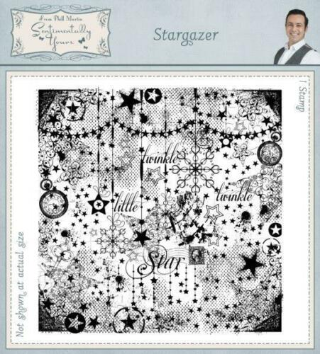 Stargazer Creative Expressions Clear Stamp Set by Phill Martin