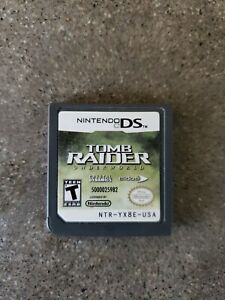 Tomb Raider Underworld Nintendo DS 2008 (Works, tested, GAME ONLY)