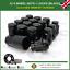 Black-Wheel-Nuts-amp-Locks-12-4-M12X1-5-Nuts-For-Land-Rover-Freelander-1998-06 thumbnail 1
