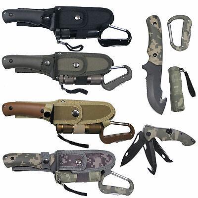 Messerset LED Lampe Messer Taschenmesser Werkzeug Multitool