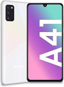 Smartphone Samsung Galaxy A41 4/64GB ESPANDIBILI Batteria 3500 mAh WHITE BIANCO