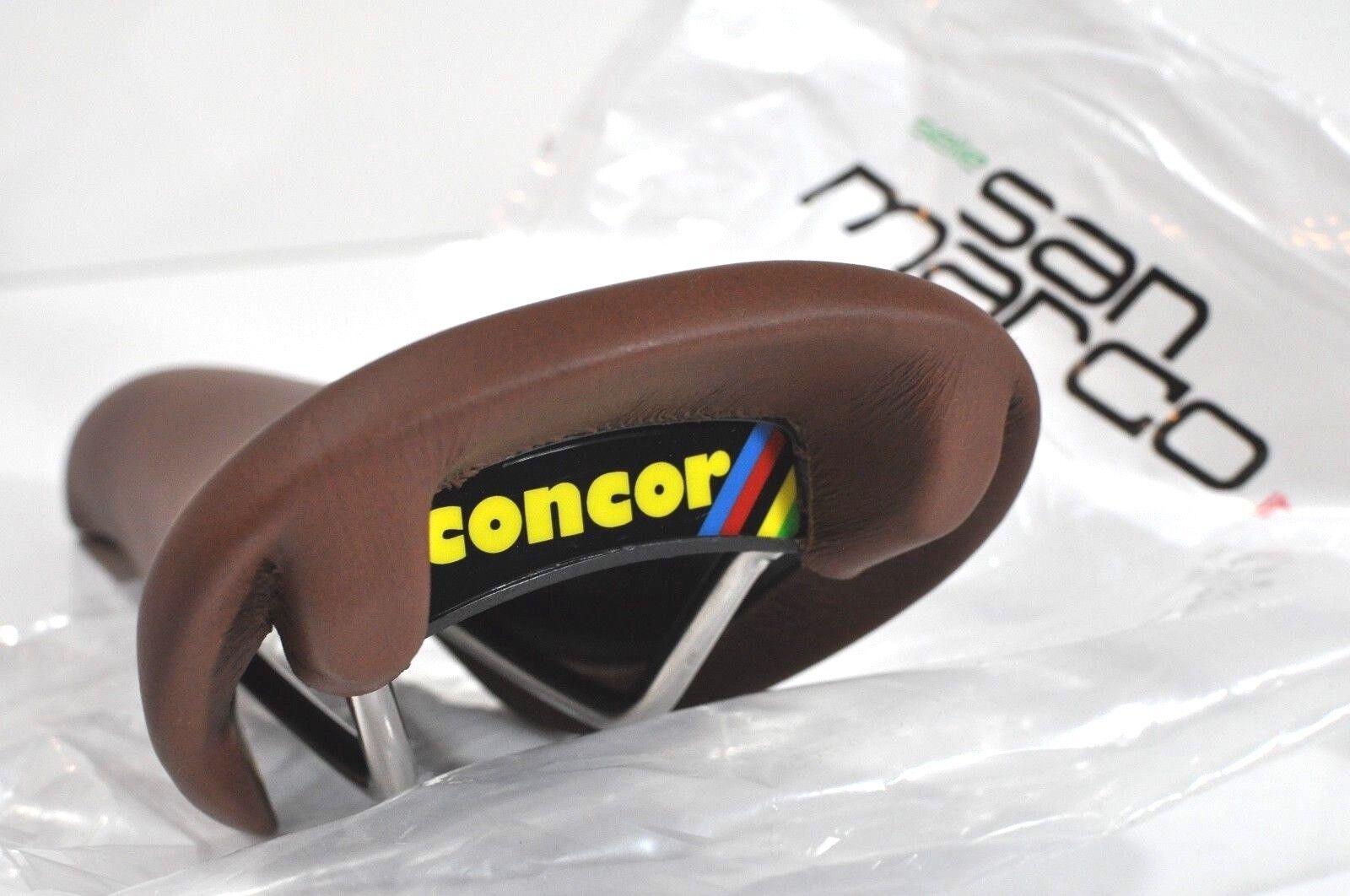 Selle San Marco Concor Supercorsa smooth Brown microfeel