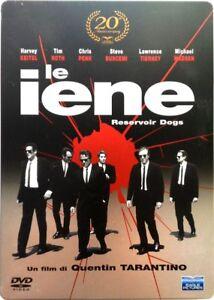 Dvd-Le-Iene-Ed-Steelbook-20-anniversario-2-dischi-di-Tarantino-1992-Usato
